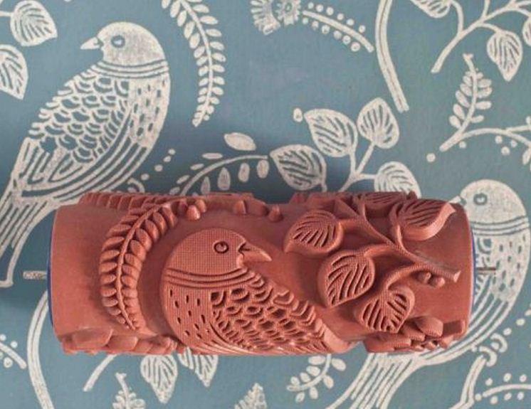 Desenli boya rulo tasarıları