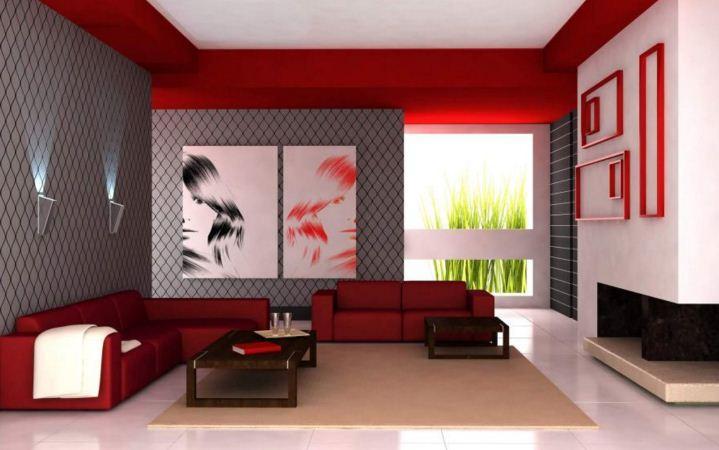 oturma odası duvar kağıdı modelleri