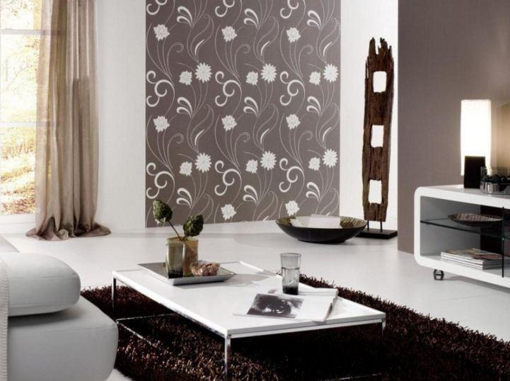 oturma odası duvar kağıdı dekorasyon