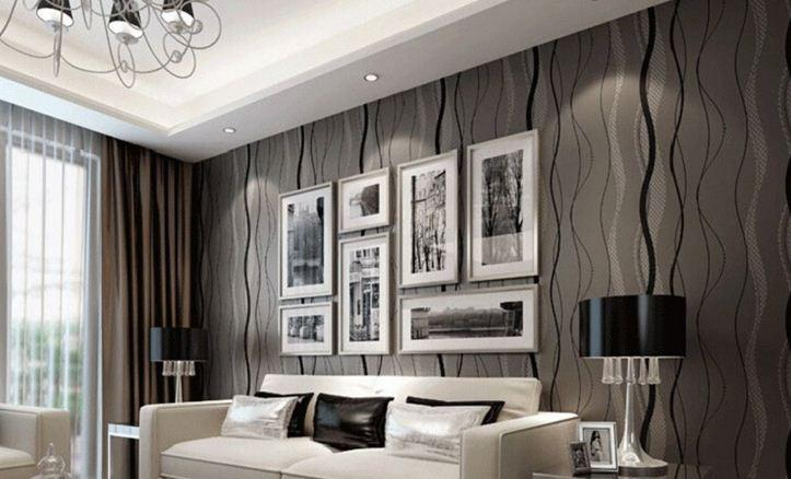 2016 oturma odas duvar ka d modelleri dekorstyle for Front room feature wallpaper