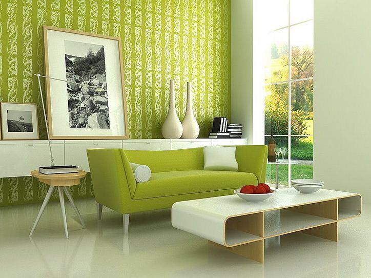 Sarı ve Yeşil Modern Koltuk Takımı Modelleri