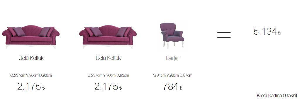 Aldora dublin salon takımı fiyatları