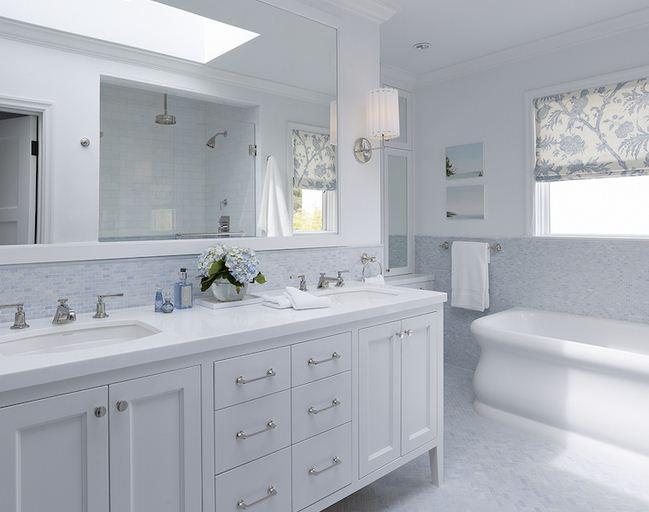 Lowes bathroom white vanity - 2016 Beyaz Banyo Dolab Modelleri Dekorstyle