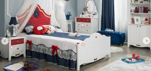 Çilek Genç Odası Takımları Strawberry Çekirdek Odası 3391 TL