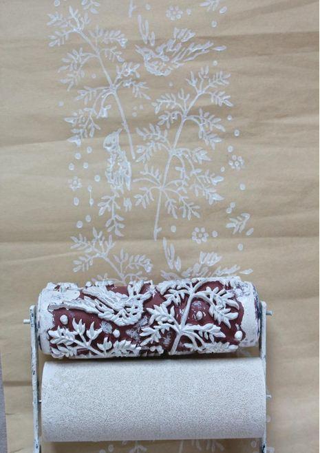 Desenli boya rulo nasıl yapılır?