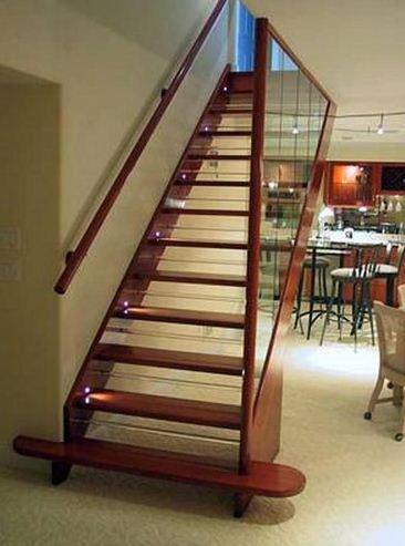 Ev İçi Ahşap Merdiven Modelleri 2016