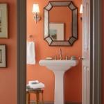 turuncu banyo dekorasyonları