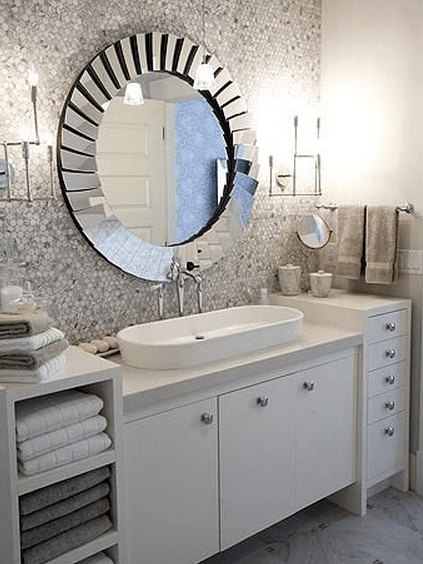 2016 en k banyo aynas tasar mlar dekorstyle 12 framed bathroom mirrors designs and ideas