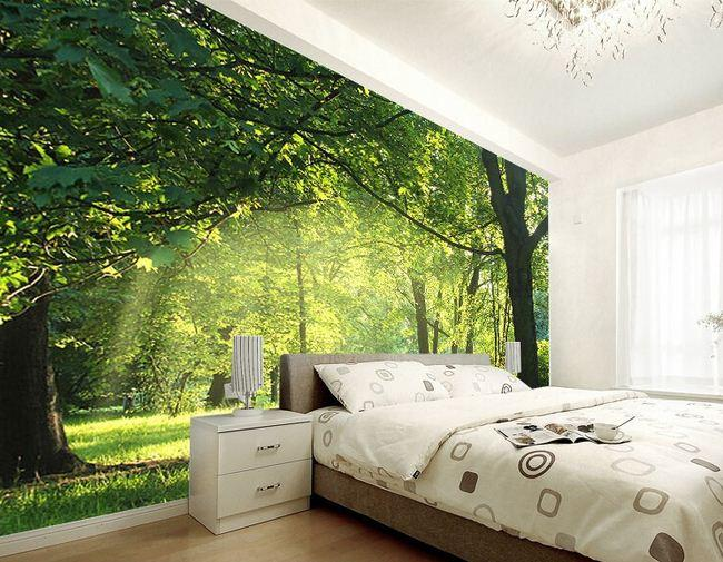 3 boyutlu duvar ka tlar dekorstyle Bedroom wall designs in pakistan