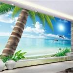 3D duvar kağıdı dekorasyonları