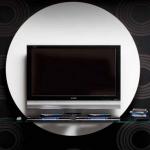 Modern Yuvarlak Tv Üniteleri