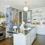 Mutfak için Modern Duvar Kağıdı Tasarımlı