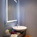 Banyo Aydınlatması için Büyük Ayna