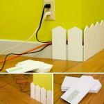 Dekoratif Kablo Gizleme Sanatı
