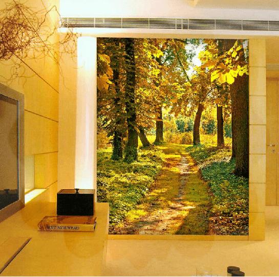 Manzaralı Gerçek 3D Duvar Kağıtları