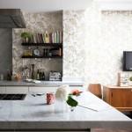 Modern Mutfak Duvar Kağıdı Desenleri 2016