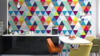 Mutfak için Modern Duvar Kağıdı Tasarımları