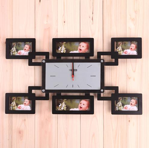Saatli Fotograf Çerçeve Modeli