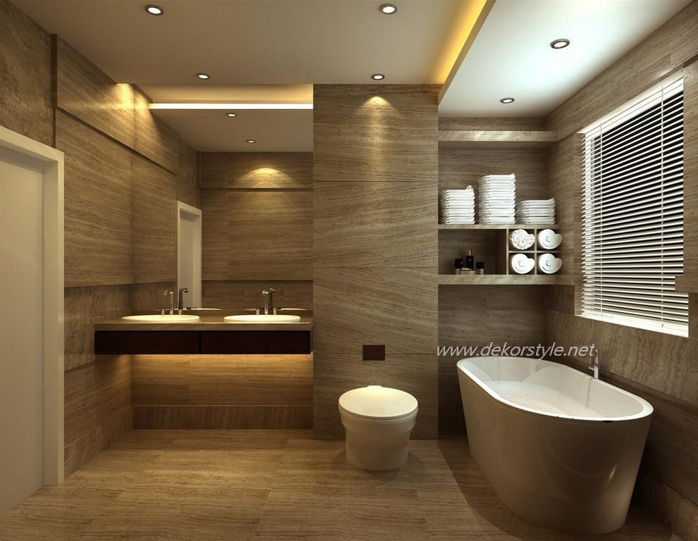 2016 banyo dekorasyon modelleri ve pu lari dekorstyle for Best new bathroom designs