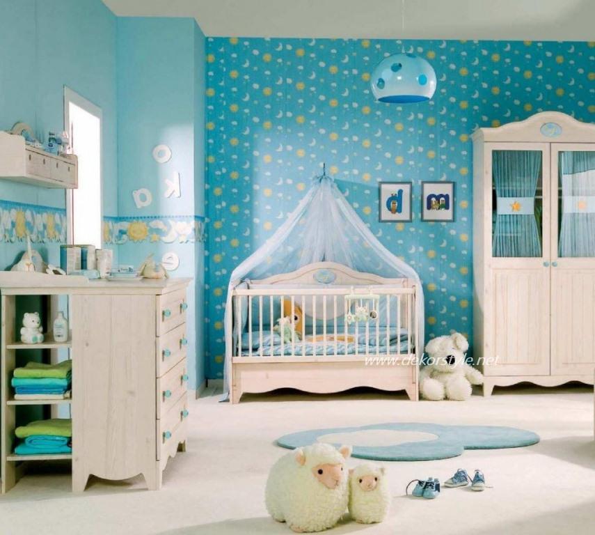 2016 Bebek Odası Perde Tasarım ve Modelleri