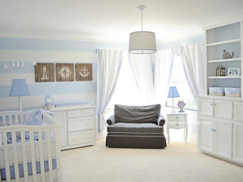 2016 Bebek Odası Perde Tasarımları