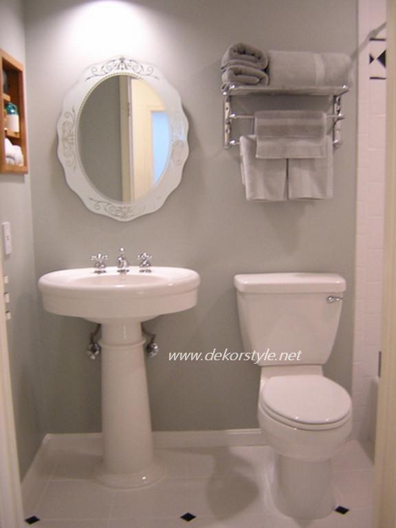 2016 Küçük Tuvaletler için Dekorasyon Fikirleri