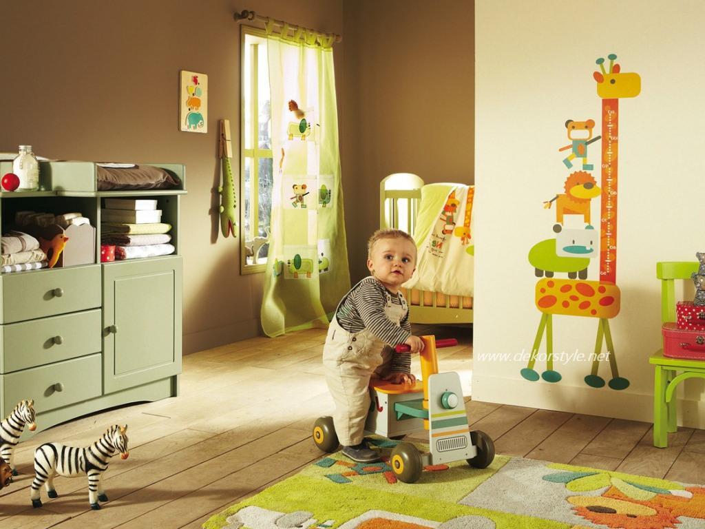 Bebek Odası Perde Tasarımları