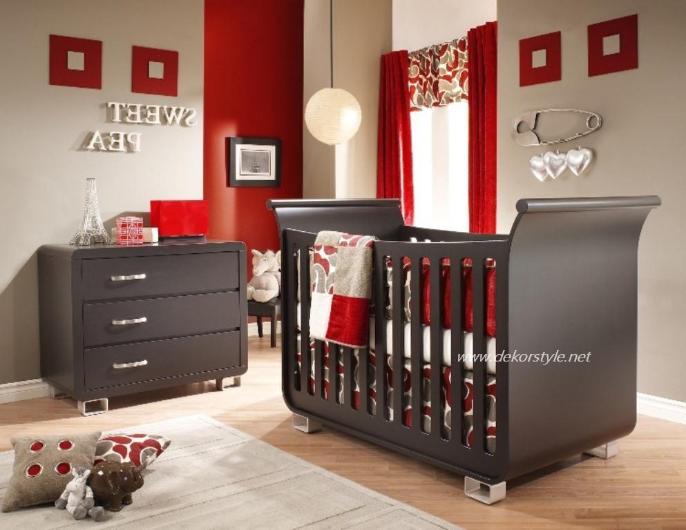 Bebek Odası Perde Tasarımları 2016
