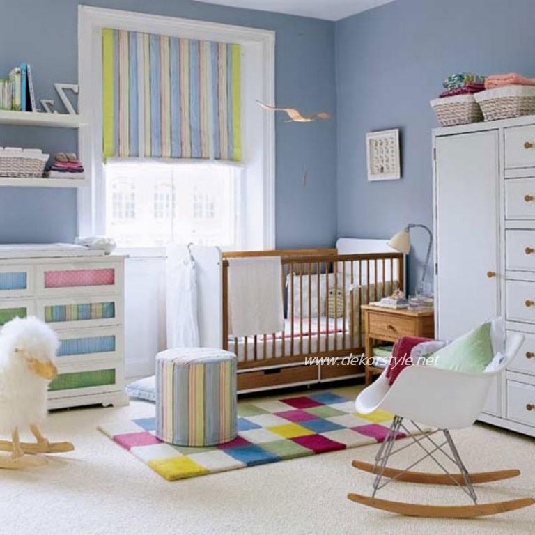 Bebek Odası Perde Modelleri 2016