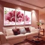 Gül Kurusu Rengi Oda Dekorasyon Örnekleri