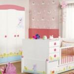 Bebek Odaları Perde Modelleri 2016