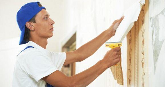 Duvar kağıdını çıkartmak