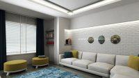 Küçük  Salonlar için Dekorasyon İpuçları
