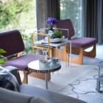 Küçük Salonlar için Küçük ve zarif mobilyalar seçin