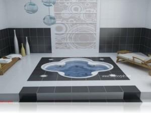 Siyah beyaz banyo dekorasyon fikirleri 2016vSiyah beyaz banyo dekorasyon fikirleri 2016