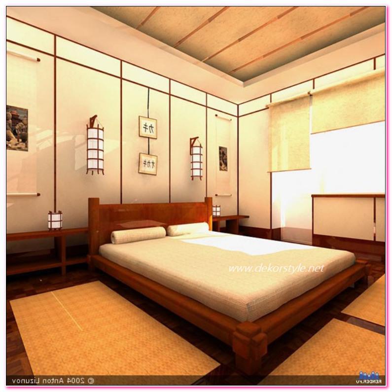 2016 Yatak Odalarında Japon Tarzı