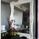 Beyaz Duvar Aynaları