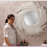 Beyaz Renkli Duvar Aynaları