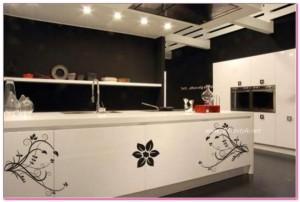 Desenli Mutfak Dolapları 2016