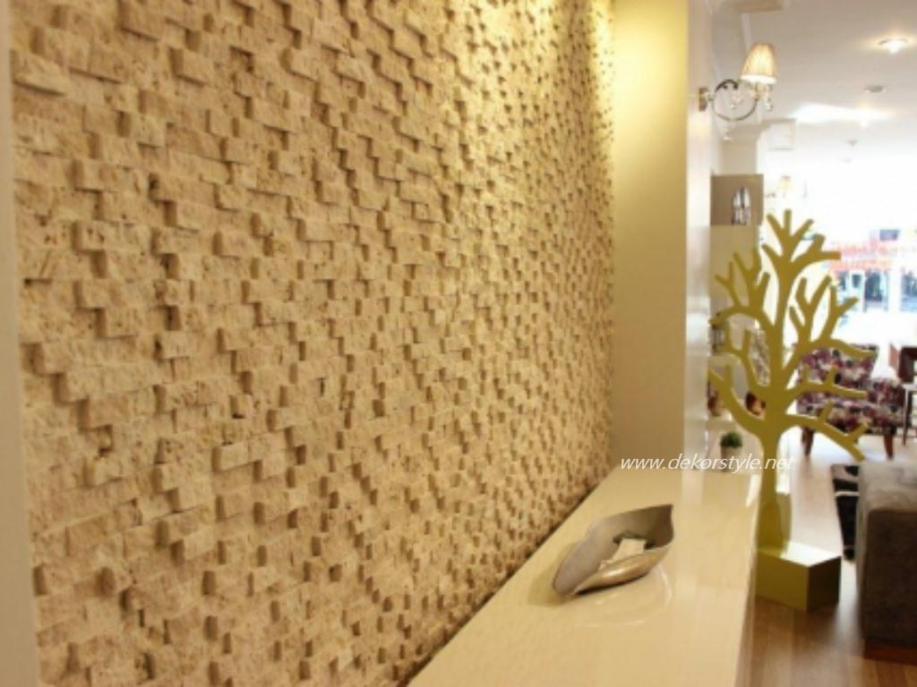 Patlatma Taş Duvar Modelleri Klasik Kubik