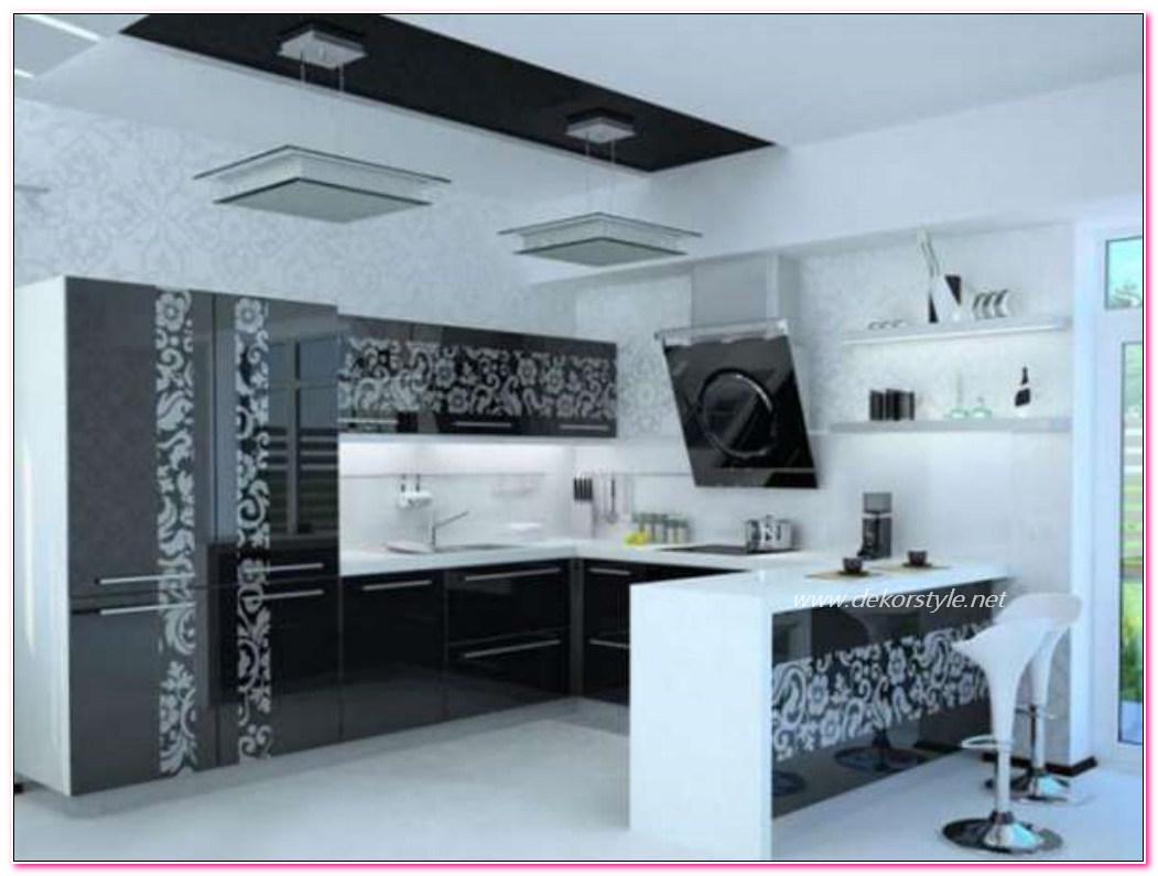 En Güzel Desenli Mutfak Dolabı Modelleri