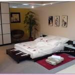 Japon Tarzı Yatak Odası Fikirleri