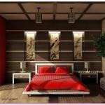 Japon Tarzı Yatak Odası Fikirleri 2016