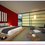 Japon Tarzı Yatak Odası Takımları 2016