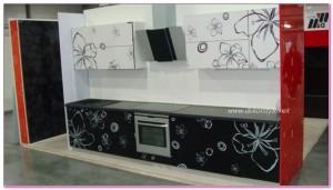 Mutfak Dolapları Desenli Modelleri