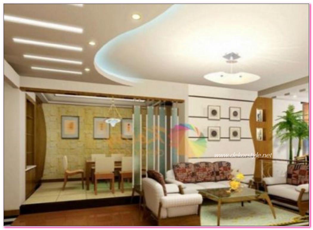 Dekoratif Asma Tavan Tavsiye Modelleri ve Örnekleri