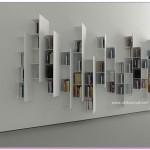 3D Kitaplık Tasarımları