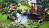 Birbirinden Şık Dekoratif Bahçe Dekorasyon Fikirleri