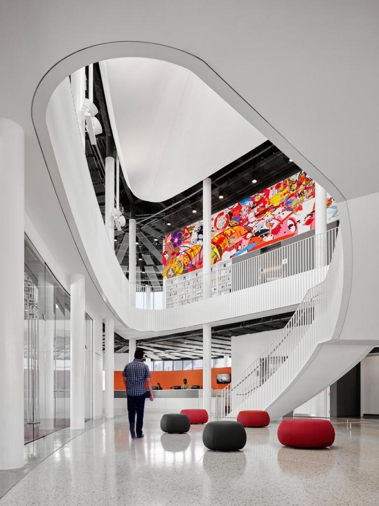 Chicago Chinatown Kütüphanesi iç dizayn feng shui