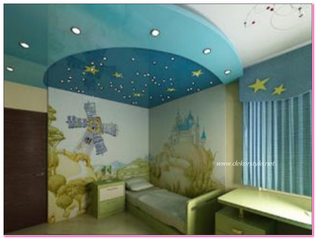Çocuk Odası Asma Tavan Modelleri